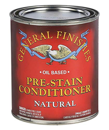 General Finishes Oil Based Pre-Stain Wood Conditioner, 1 Quart