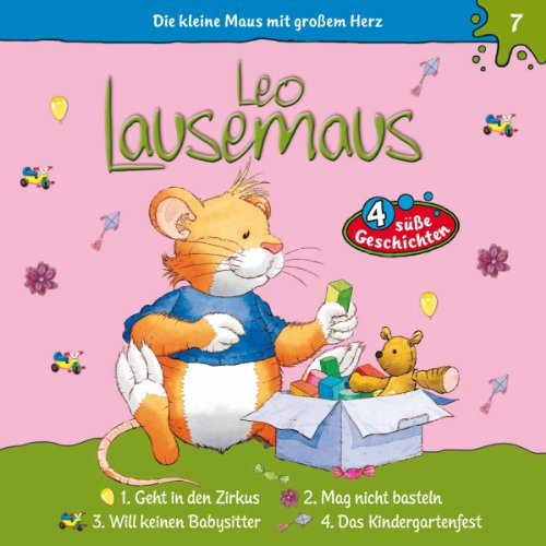 Leo Lausemaus geht in den Zirkus audiobook cover art