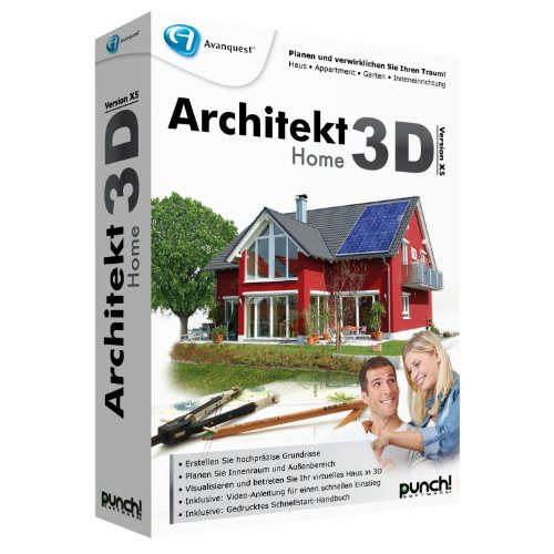 Avanquest Architekt 3D X5 Home