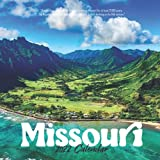 """Missouri 2022 Calendar: 12-month Calendar - Square Small Gorgeous Calendar 7x7"""" for planners with large grid for note"""