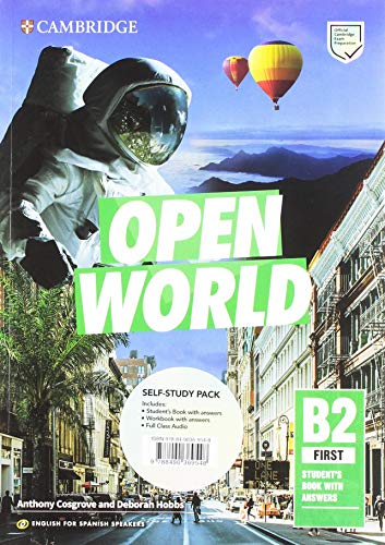 Open World First Self-study Pack (Student's Book with Answers and Workbook with Answers and Class Audio)