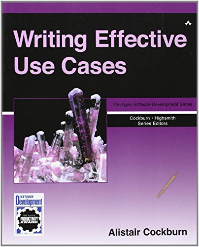 Writing Effective Use Cases (Crystal Series for Software Development) by Alistair Cockburn (5-Oct-2000) Paperback