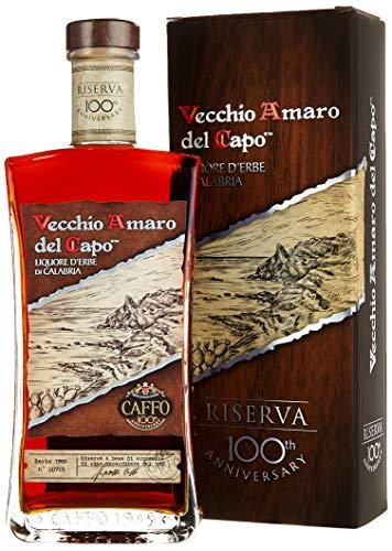 Vecchio Amaro Del Capo Riserva 100th Annivers.+ GB Liköre (1 x 700 ml)