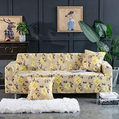 Allgemein All-Inclusive-Stretch-Husse Stoff Sofa Kissenbezug Sofabezug Sofabezug (Farbe : 10, Size : Doppel-Sofa (145-185cm))