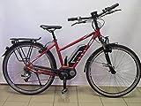 KTM Macina Dual Bosch 400 Mujer Sport Bicicleta eléctrica, Rojo rubí Mate 2015 RH 46, 23,90kg