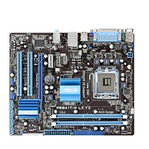WERTYU Fit For ASUS P5G41T-M LX V2 Placa Madre G41 Socket LGA...