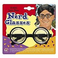 Sie sind auf der Suche nach einer lustigen Brille? Dann ist diese von Widmann genau die Richtige Das Accessoire mit Mega-Vergrößerungsgläsern macht Sie zu einem echten Nerd und lässt Ihre Augen besonders hervorheben Das Gestell wird in der Farbe Schw...