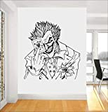 Die Joker-Karte Batman Crazy Grin Spielzimmer Wandkunst