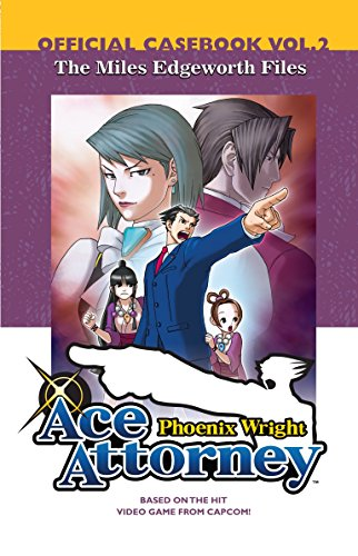Phoenix Wright: The Miles Edgeworth Files, Official Casebook [Lingua Inglese]