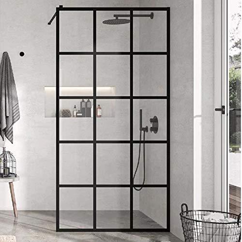 Panel fijo de ducha FRESH INDUSTRIAL DECORADO CUADROS 120 cm