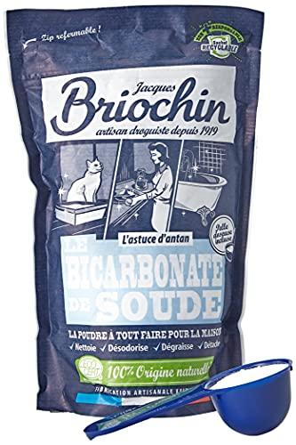 Jacques Briochin Bicarbonate de Soude Sachet Doypack 500 g - Lot de 3