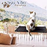 Sista & Bro Petshop Hamac de fenêtre Chat, Perchoir à Chat, étagère fenêtre pour Chat, lit couchette Chat Siège de fenêtre pour Chat Facile A Monter.