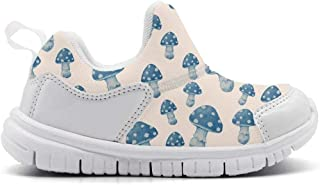 ONEYUAN Children The Polar Bear Habitat Blue Kid Casual Lightweight Sport Shoes Sneakers Walking Athletic Shoes