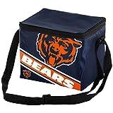 Chicago Bears Big Logo Stripe 12 Pack Cooler