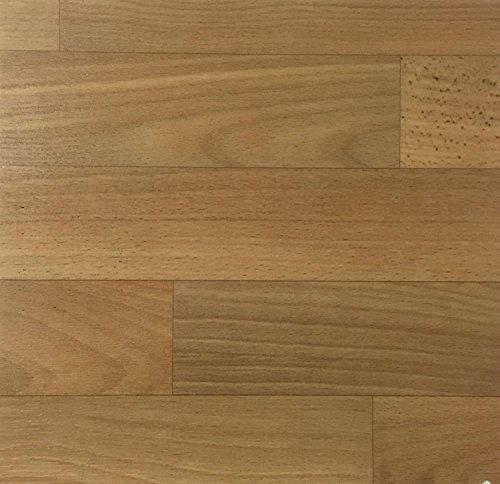 PVC Vinyl-Bodenbelag | Muster | in Buche Schiffsboden-Optik | CV PVC-Belag in verschiedenen Maßen verfügbar | CV-Boden wird in benötigter Größe als Meterware geliefert
