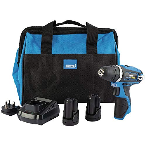 Draper 99718 Storm Force 10.8V Interchange Rotary Kit (+2 x 1.5Ah Batteries, Charger and Bag)