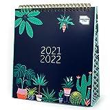 Boxclever Press Simply Study Desk Calendar 2021 2022. Freestanding Academic Calendar 2021-2022 runs Aug'21 - Jul'22. Stylish Student Flip Calendar 2021/2022 - A Must Have University Essentials Item!