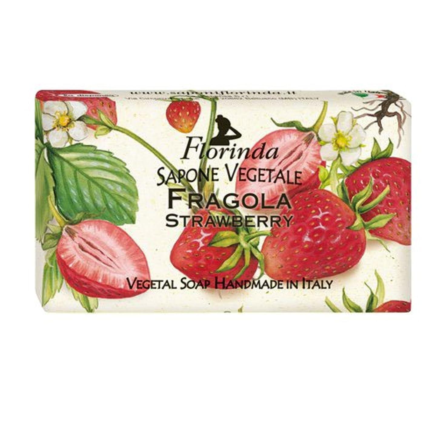 熱狂的な排除するテーブルフロリンダ フレグランスソープ フルーツ ストロベリー 95g