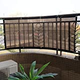 縦断勾配 Artificial Pantalla Valla De Privacidad Valla de Seguridad para balcón Parasol Anti-Ultravioleta Net 180gsm Tasa de Sombra 90% Villa Sol Toldo Vallas Decorativas