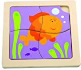 Original Toy Company The First Puzzle - Happy Goldfish by The
