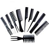 Professional Hair Brush Comb, Salon Barber Anti-static Hair Combs, Hairbrush Hairdressing Combs Hair Care Styling Tools, 10pcs/Set