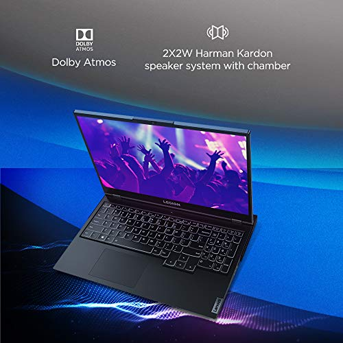 Lenovo Legion 5 AMD Ryzen 5 4600H 15.6 inch Full HD IPS Gaming Laptop (8GB/1TB HDD + 256GB SSD/Windows 10/120 Hz/NVIDIA GTX 1650 4GB GDDR6 Graphics/Phantom Black/2.3Kg), 82B500MMIN