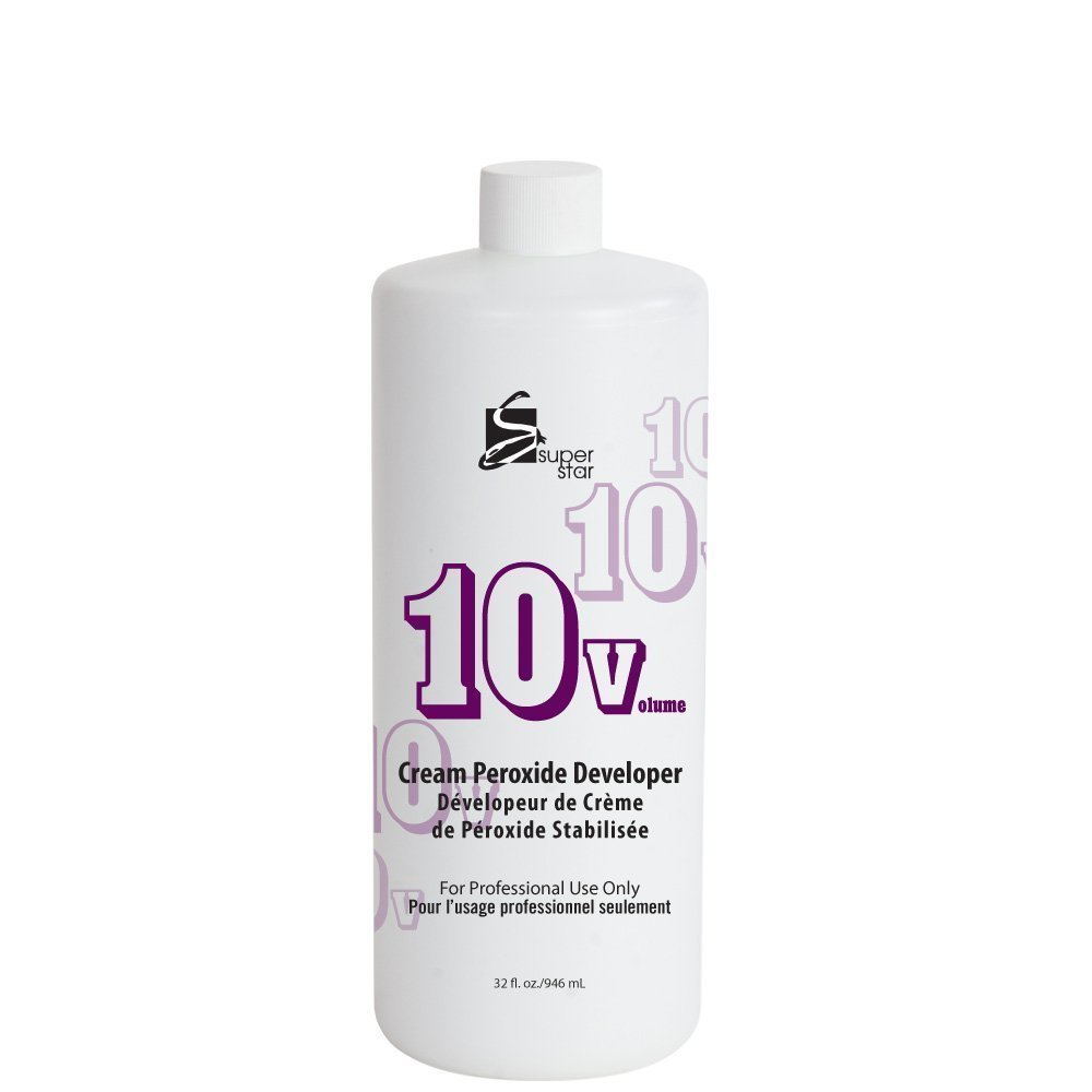 Courier shipping free SUPER STAR 10v Cream Peroxide 32 Developer Max 67% OFF Ounce Fluid