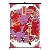 日本のアニメ地縛少年花子くんウォールアートポスターリール絵画リビング家の装飾16x24inch / 40x60cm