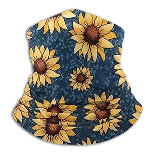 SARA NELL Neck Gaiter Headwear Face Sun Mask Magic Scarf Bandana Balaclava -  Blue -  One size