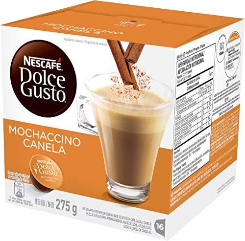Nescafe Dolce Gusto, Mochaccino canela, 16 Cápsulas