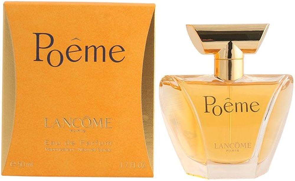 Lancòme poeme eau de parfum profumo da donna 50 ml 121134