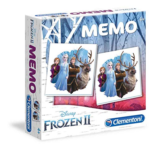 Clementoni 18052 Memo Game - Frozen 2, Mehrfarben