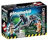 CAZAFANTASMAS-Venkman y Terror Dogs Playset de Figuras de Juguete, Multicolor, 7,2 x 14,2 x 18,7 cm ...
