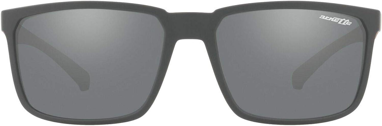 ARNETTE Men's An4251 Stripe Rectangular Sunglasses