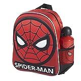 CERDÁ LIFE'S LITTLE MOMENTS Botella de Agua Infantil Spiderman-Licencia Oficial Marvel para Niños, Azul, Mochila Recomendada 3-6 años, en Edad de Preescolar