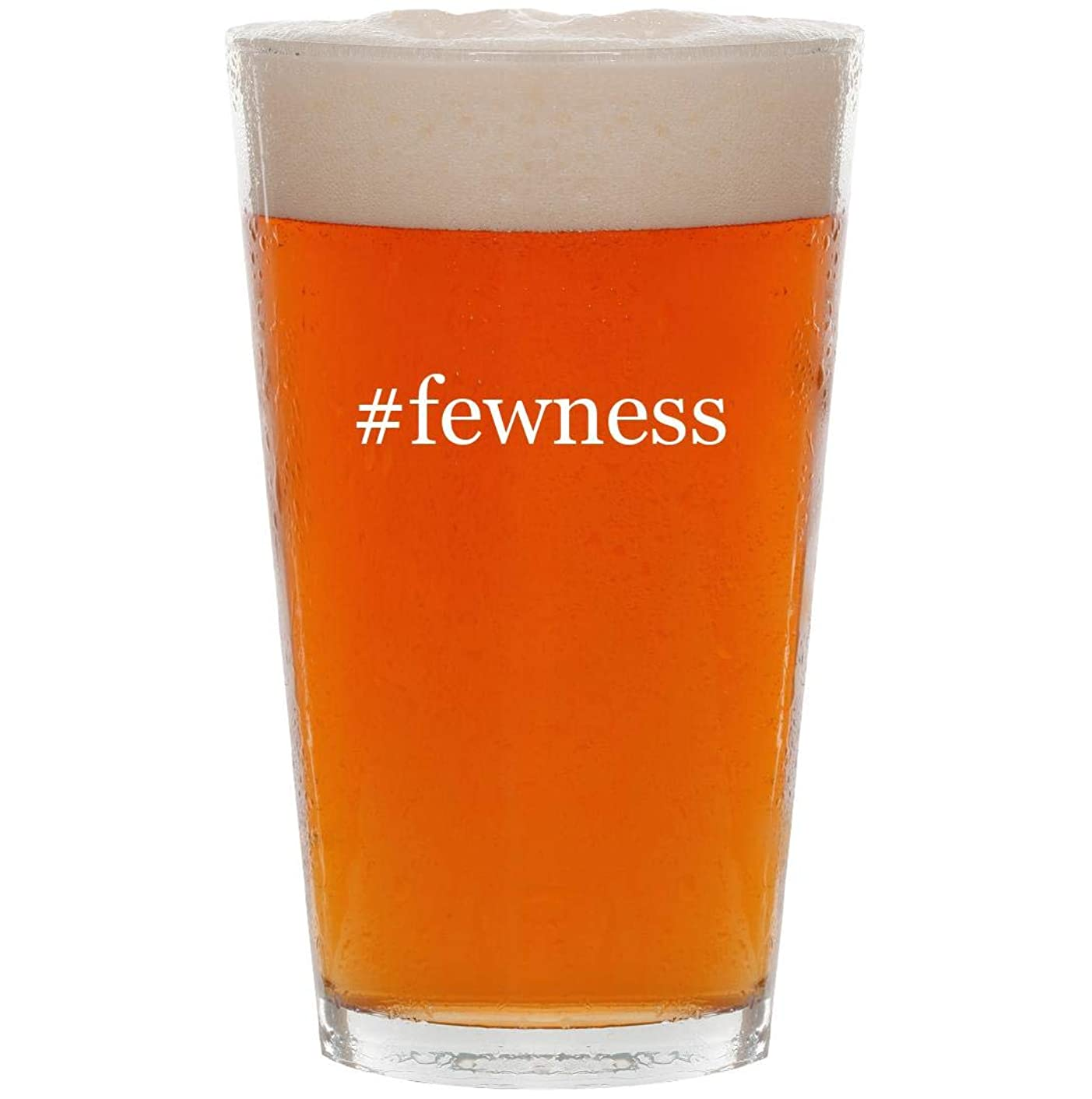 #fewness - 16oz Hashtag All Purpose Pint Beer Glass