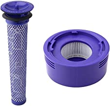DIY Cleaner Fitting 6 Pack Pre-Filters and 2 Pack HEPA Post-Filters Replacements Compatible Fit for Dyson V8 and V7 Cordle...