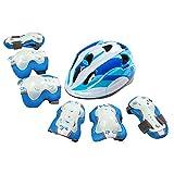 Jia Hu Schutzausrüstung für Kinder, Jugendliche, Sport, Schutzausrüstung für Helm, Ellenbogen,...