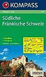 Südliche Fränkische Schweiz: Wander- und Radkarte. GPS-genau. 1:50.000