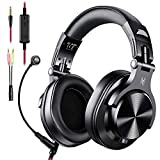 Casque Audio Micro, OneOdio Casque Gaming PS4, Casque Micro PC, Casque Gamer Xbox One Compatible PC Tablette Smartphone Synthétiseur Guitare Piano