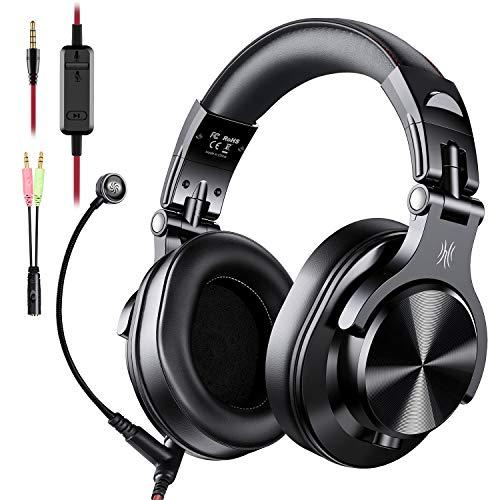 Auriculares OneOdio sobre la oreja, auriculares DJ con cable,...