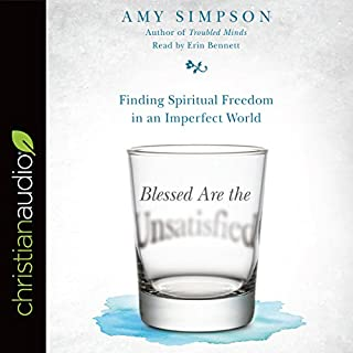 Blessed Are the Unsatisfied audiobook cover art