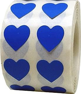 Buste color perla Buste fai da te per inviti di nozze con fibbia a forma di cuore Blu navy 6,8x4,3 pollici 30pcs-175x110mm