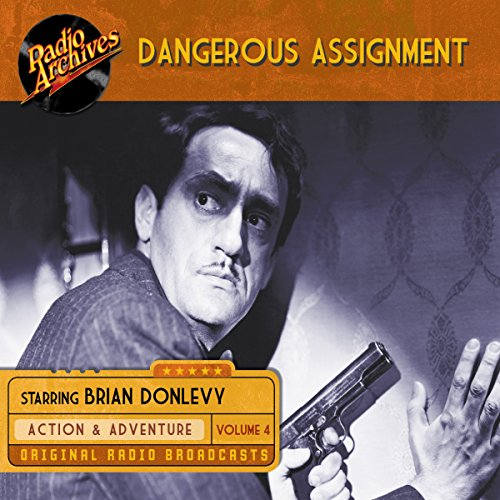 Dangerous Assignment, Volume 4 cover art