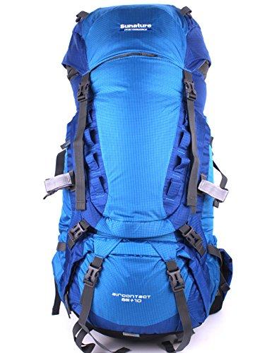 Belvie 1383 Wanderrucksäcke Trekkingrucksäcke 75l (blau)