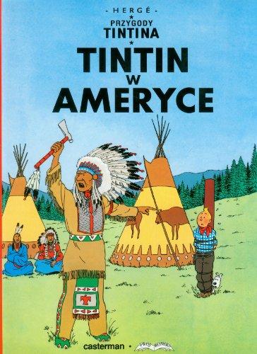 Przygody Tintina, Tome 2 : Tintin w Ameryce : Edition en polonais