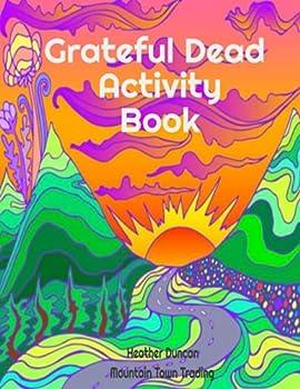 Grateful Dead Activity Book  Grateful Dead coloring book