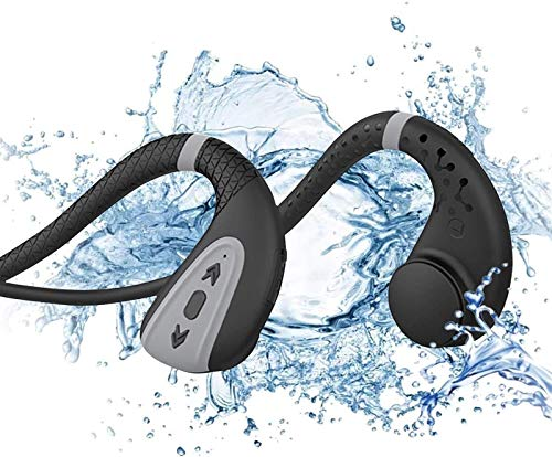 Hueso Conducción Bluetooth Auriculares Auriculares Natación Nadar Reproductores MP3 Bluetooth 5.0 Auriculares inalámbricos IPX8 Abrigo abierto Auriculares Auriculares Auriculares Auriculares Sport Con