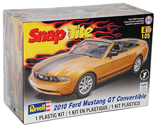 mächtig der welt Revell Ford Mustang GT Cabrio Gold 2010 DIY Kit Kit 1/251/24 Modell