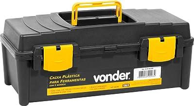 Caixa Plástica Vd 4038, Com 1 Bandeja Vonder